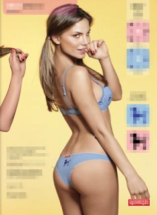 Nina Senicar , modella, Caroline Salvia , Michelle Hunziker,Natalia Bush, lato B,corpo, intimo, marchio, sexy,gossip,news,notizoe,vip,