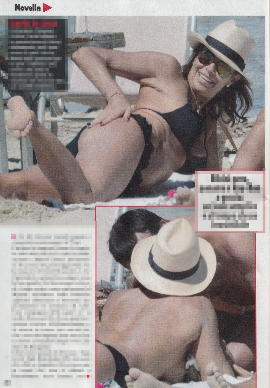 Cristina Parodi, primi scorci hot da Formentera